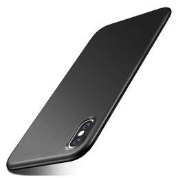 Опт MOQ 1 шт. Смешанный цвет чехол для iPhone XS Max XR 8 7 6 6S плюс сплошная матовая мягкая задняя крышка ТПУ силиконовый чехол