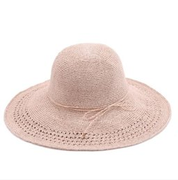 $enCountryForm.capitalKeyWord Australia - 2019 new hot sale comfortable leisure sun protection straw hat hollow pattern beach holiday wind hand-woven hat factory direct