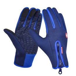 Wind Gloves Australia - 7 Colors B-Forest Outdoor unsexy Full Finger Wind Gloves Polar Fleece Capacitive Touch Screen Gloves For Smart Cellphones