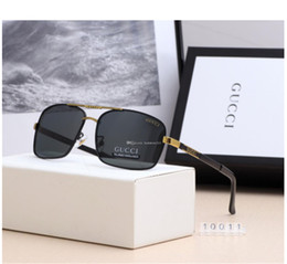 sun glasses lenses NZ - 2018 Luxury- High Quality Classic Pilot Sunglasses Designer Brand Mens Womens Sun Glasses Eyewear Metal Glass Lenses with box