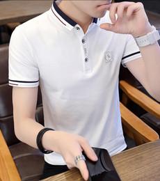 Polo Ralph Man Australia - 2018 Men Polo Shirts designer men's T-shirt leisure and sports skateboard hip hop street T-shirt Ralph short-sleeved T Shirt