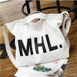 Canvas Print Prices Australia - Women Shopping Bag Canvas Bags Big Capacity Handbags Tote Clutch Gift Bag Wholetied Price Good Quality