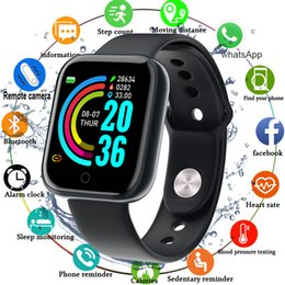 build camera Canada - Smart Watch Waterproof Bluetooth Sport SmartWatch Support for iOS Android Device Fitness Tracker Heart Rate Monitor Built-in 150mAh Battery