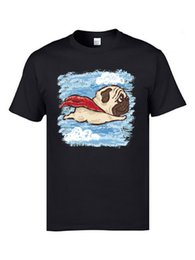 $enCountryForm.capitalKeyWord Canada - Flying Pug Terrier Dog Youth T Shirts Poodle Good Quality Summer Tops Shirts O Neck Cotton Fabric Clothing Shirts Sweatshirt