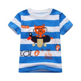 Pattern design for clothes online shopping - 8 Design New Fashion Children Cotton T shirt for Boys Clothing Baby Little Girls Tops Kids Tee Shirt Animal Pattern T shirts