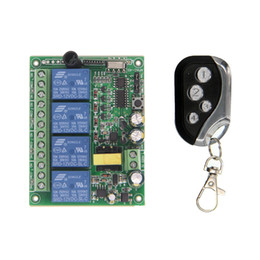 $enCountryForm.capitalKeyWord Australia - AC 220V 4CH 4 CH 10A Wireless Remote Control LED Light Switch Relay Output Radio RF Transmitter Receiver,315   433 MHz