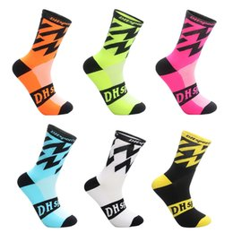 $enCountryForm.capitalKeyWord Australia - Best Fashion Sports Warm Men's Cycling Accessories Socks Multi-color Long Nylon Deodorant Breathable Basketball Running Socks