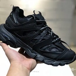 $enCountryForm.capitalKeyWord Canada - Release Tess S Paris track men gomma maille black For women Triple S Clunky Sneaker Casual Shoes Hot quality Designer Shoe