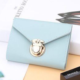 $enCountryForm.capitalKeyWord Australia - New Solid Candy Color Women Pu Leather Cute Mini Wallet Lolita Style Women Short Coin Purse Gift Carteira Women Clutch N1273