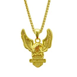 $enCountryForm.capitalKeyWord Australia - Special Offer Eagle Wings Designer Necklace Hip Hop Mens Necklace Simple Letter Iced Out Pendant Luxury Jewelry Direct Selling