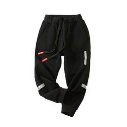 Green biG pocket pants online shopping - Children Casual Pants Boy Girl Big Pocket Casual Elastic Force Pants Children Elastic Force Sports Trousers