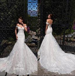 Wholesale beautiful t shirt prints online – design sexy mermaid wedding dresses beautiful lace print sexy back design wedding dress beautiful wedding dress Robes De Mariee hot selling