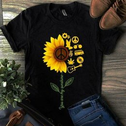 black s guitar Australia - Hippie Guitar Life You Are My Sunshine T Shirt Black Cotton Men S-6XL Cool Casual pride t shirt men Unisex Fashion