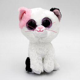 $enCountryForm.capitalKeyWord Australia - Hot Ty Beanie Boos Big Eyes 15CM Cat Plush Doll Kawaii Stuffed Animals Collection Lovely Children'S Gifts Toys