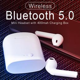 Опт i7s Mini TWS True Wireless 5.0 Наушники 3D Стерео наушники с шумоподавлением Спортивная музыка Bluetooth Мини гарнитура