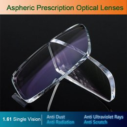 Hyperopia Glasses Australia - Single vision Radiation protection Prescription Lenses UV-anti Resin Aspheric Glasses Lenses for Myopia Hyperopia Presbyopia Diopter Lens