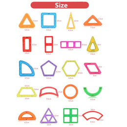 Magnetic Building Toys For Children Australia - uilding Construction Toys Blocks 190 Pcs Set Standard Size Magnetic Building Blocks Brick Designer Educational Toys For Children With Bro...