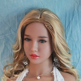 full doll tpe for sex Australia - NEW Realistic Sex Doll Head For Silicone Oral Adult Dolls Sexy Toy TPE Heads Can Fit For 140cm To 170cm Full Size Love Dolls
