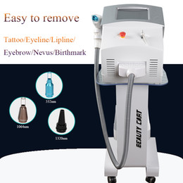 laser tattoo removal ce Canada - nd yag laser machine laser tattoo removal Black Doll Treatment Professional tattoo removal equipment CE approval with factory price
