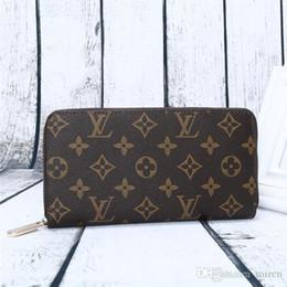 Multi Color Hand Bag Australia - AAA+ Fashion Zipper Purses Good Quality Leather Men Women Hand Purse Luxury Brand Designer Wallets Multi-Color Optional Wallet