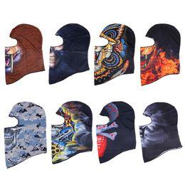 Riding Skull Cap Australia - Outdoor Sports Skull Face Mask Winter UV Protect Cycling Breathable Windbreak Dustproof Riding Cap Headscarf MTB Road Bike Masks
