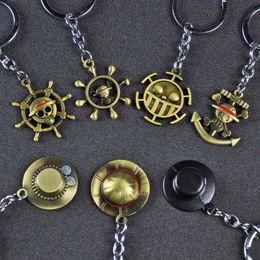 $enCountryForm.capitalKeyWord Australia - 2019 Hot Handmade Keyfob Metal Japan Cartoon One Piece Keychains Mokey D Luffy Hat Rudder Zoro Nami Usopp Sanji Chopper