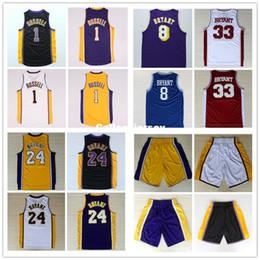 ddba1e98b08 K B 24 8 D Angelo Russell  1 Basketball Jersey