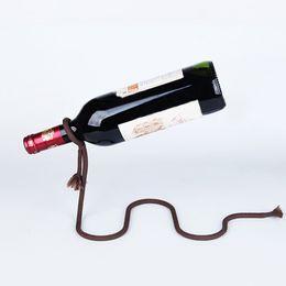 $enCountryForm.capitalKeyWord Australia - Modern Style Dangling Stents Wine Bottle Holder Hanger Red Wine Rack Support Bracket Bar Accessories Table Decoration