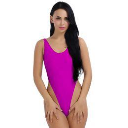 511d1eee9 Sexy Womens Ladie Swimming One-Piece Push Up Bikini Swimwear Monokini High  Cut Backless Leotard Thong Bodysuit Monokini