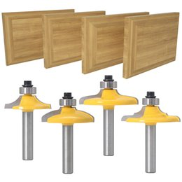 router cutters sets NZ - 8mm Shank Drawer Front & Cabinet Door Front Router Bit Set - woodworking cutter woodworking bits
