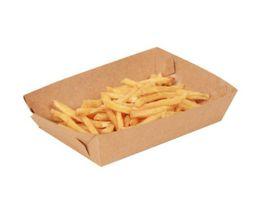 $enCountryForm.capitalKeyWord Australia - Cardboard Food Tray Hot Dog French Fries Plates Dishes Food Packaging Box Disposable Dinnerware Tableware