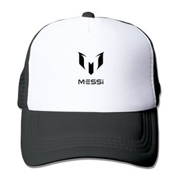 8eb15327d72 Men Women MESSI Print Trucker Cap Net Running Cap Summer Cool Baseball Net  Trucker Caps sun hat Beach Visor hat For Adult