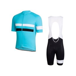 Mtb Clothing Sale Australia - Hot Sale Summer men rapha team Cycling jersey Racing Bike Shirt bib shorts set MTB Bicycle Clothing Short Sleeve racing sports uniform Y0411