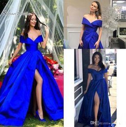 Evening Dresses Long Light Purple Off Shoulder Arabic Evening Dress 2019 Kaftan Dubai Formal Evening Gowns With 3d Flowers Abito Cerimonia Donna Modern Design