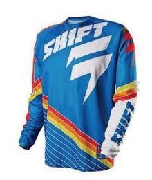 team sky pink jersey 2019 - New Men's Pro Team Seven Orange Motocycle Downhill Jersey Ropa MX Long Sleeve Racing Moto Clothing MTB Motocross Je
