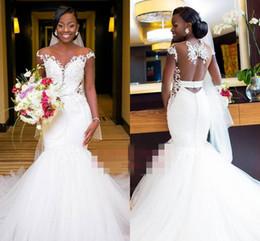 Dress For Wedding Muslim Australia - 2019 South Africa Style O Neck Wedding Dresses Short Sleeve Backless Mermaid Bridal Gown For Bohemian Garden Wedding Custom Made