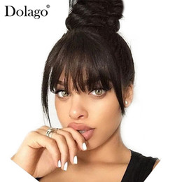 Brasiliani brasiliani dei capelli umani Clip nell'estensione dei capelli umani Dolco nero naturale 100% prodotti dei capelli del Virgin