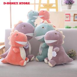 $enCountryForm.capitalKeyWord Australia - New Arrive 30cm Dinosaur Plush Toys Kawaii Stuffed Soft Animal Doll for Children Baby Kids Cartoon Toy Classic Gift