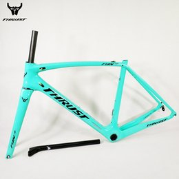$enCountryForm.capitalKeyWord Australia - THRUST Bicycle Carbon Road Frame 2018 T1000 XXS XS S M L Racing Bike Carbon Frame Road with Fork Headset Seat post for Bicycle