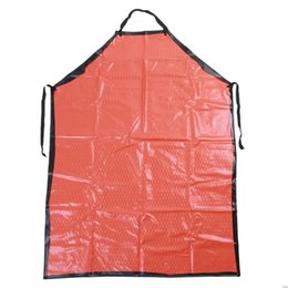 Wholesale Apron Bib Uniform Hairdresser Salon Hair waterproof Thicken Oversleeves Acid alkali resistance kitchen aprons Sleeveless