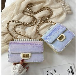 $enCountryForm.capitalKeyWord Australia - 2019 Sequined Fish Scale Women Messenger Bag Pearl Shoulder Diagonal Chain Crossbody Shoulder Bag Lady Shine Cute Handbag Bolso