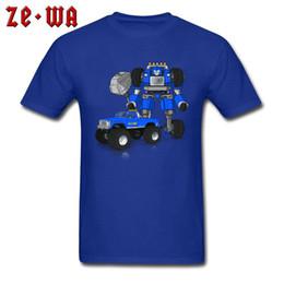 $enCountryForm.capitalKeyWord Australia - BigFoot T Shirts Men Cool Car Tshirt Slim Fit NEW YEAR DAY All Cotton O Neck Gift T-Shirt Casual Tees Robot Christmas Blue Tops