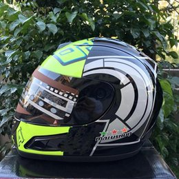free full face helmets Canada - Free shipping motorcycle helmet racing unisex winter helmet full face capacete motorcycle capacete