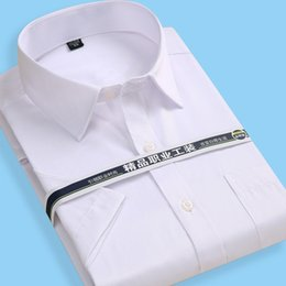 6804bb943 Work Shirts Polo Australia - Customize Men's Wedding Apparel Groom Wear  Shirts Short Sleeve Plus Size