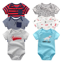 Jumpsuit Baby Born Australia - New Born Baby Clothes Cotton Baby Girl Clothes Summer Infant Girl Clothing Jumpsuits Kids Costumes Newborn Baby Rompers Y19061201