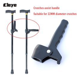 $enCountryForm.capitalKeyWord NZ - Cleye Old Man Walking Cane Accessories Extra Handle For 22mm Diameter Elderly Walking Stick Auxiliary Handle For Seniors