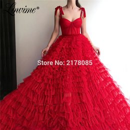 $enCountryForm.capitalKeyWord Australia - Spaghetti Straps Crystals Prom Dresses Simple Tulle Summer Party Dress 2019 Couture Arabic Vestidos Cheap Evening Dress