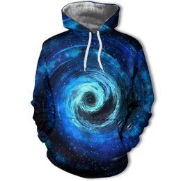 $enCountryForm.capitalKeyWord Australia - Autumn and winter hoodie men's jacket pullover hooded sweatshirt casual blue star 3d printed jacket popular hop pullover hoodie
