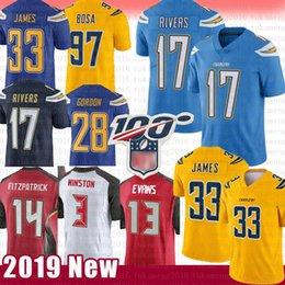 Discount fitzpatrick jersey 97 99 Joey Bosa 17 Philip Rivers Jersey Derwin James Gordon Fitzpatrick Jameis Winston Mike Evans Los