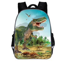 dinosaur children bag Australia - MAIOUMY Children Backpack Cartoon Dinosaur Print Children Kids Boys Fashion Cute Cartoon Dinosaur Print Shoulder Backpack Bags
